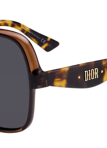 Dior Nuance F Smart Fit Sunglasses, Havana
