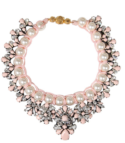 Marisa Necklace, Pale Pink