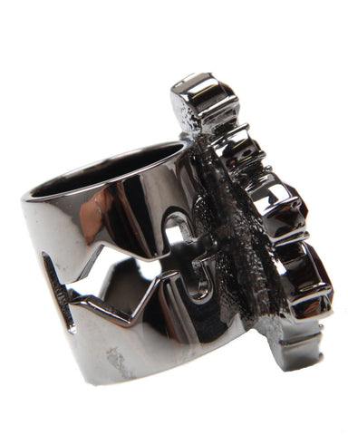 Crystal Nymph Razor Blade Ring