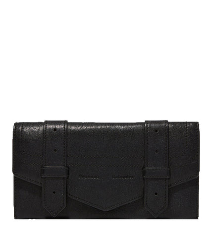 PS1 Continental Flap Wallet (GM), Black