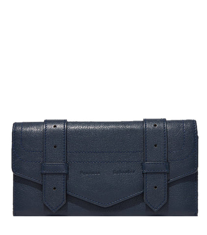 PS1 Continental Flap Wallet (Brass), Midnight