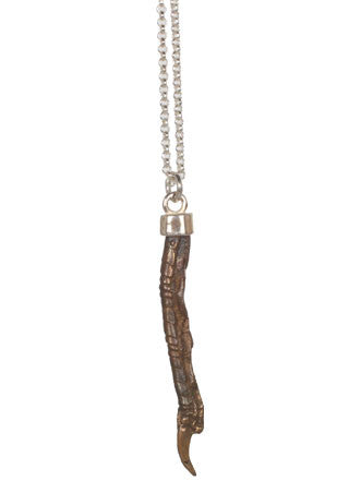 Pukeho Large Necklace, Bronze