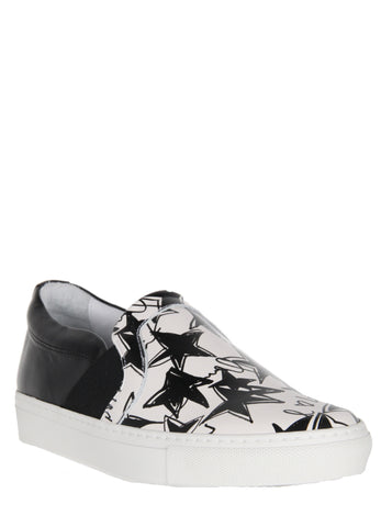 Pull-On Skate Sneakers, Star Print