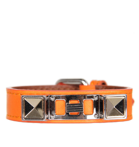 PS11 Bracelet Smooth Leather, Pumpkin