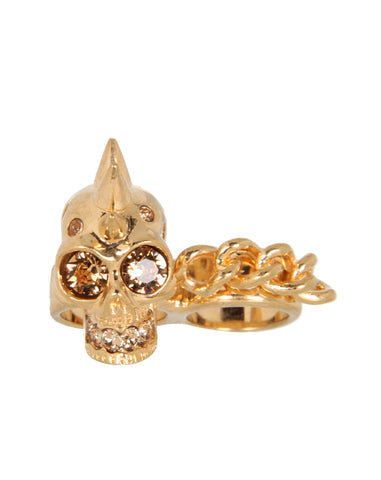 Double 2 Finger Ring, Gold