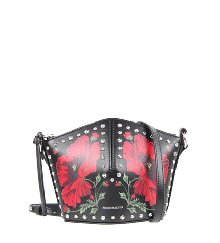 Mini Crossbody Bucket, Poppy