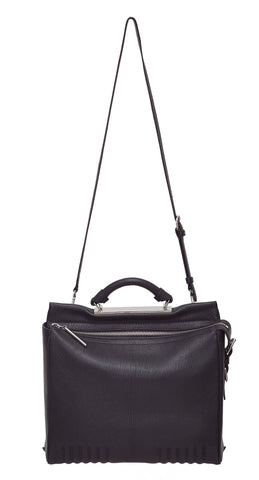 Small Ryder Satchel, Black