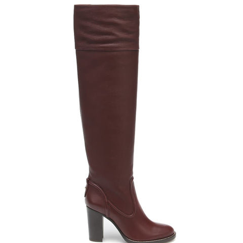 Knee Boot, Deep Purple