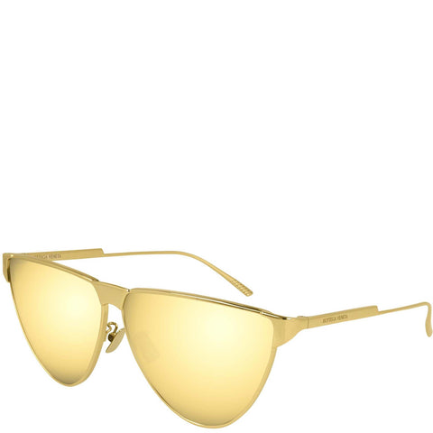 BV 1070S Sunglasses, Gold/Gold
