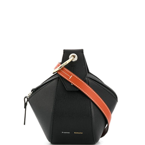 Zippered Pochette, Black