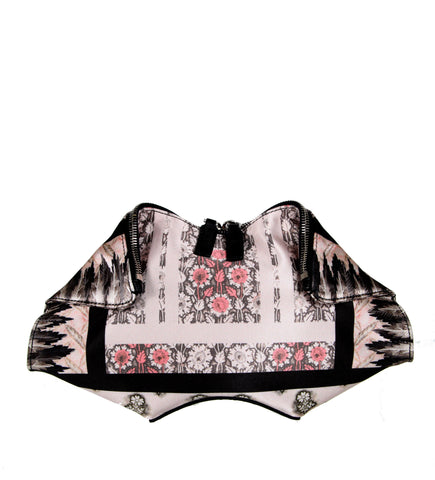 De Manta Clutch Small, Daisy Block