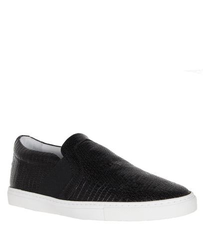 Pull-On Skate Sneakers, Tejus embossed