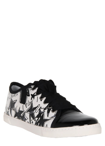 Low Sneakers, Stars Printed