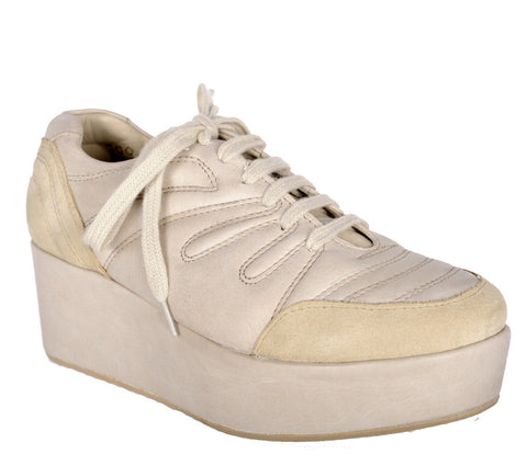 Sneaker Wedge, Cream