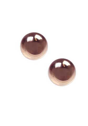 Small Sphere Studs, Rosegold