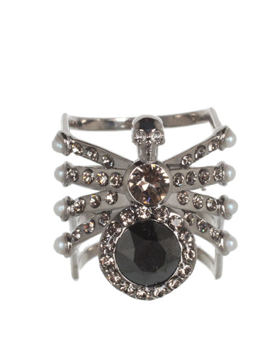 Spider Ring , Silver