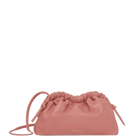 Cloud Clutch Mini Lambskin, Blush