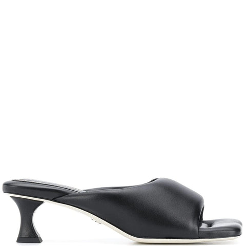 Square Toe Mule 50, Black