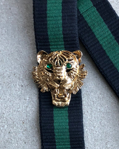 Strap 40 Gold Tiger (Green), Blue/Green