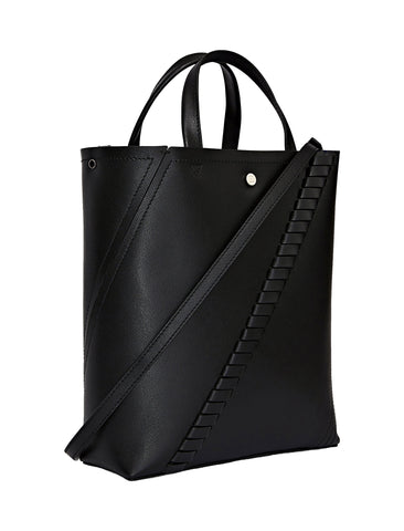 PS Hex Tote Grained, Black