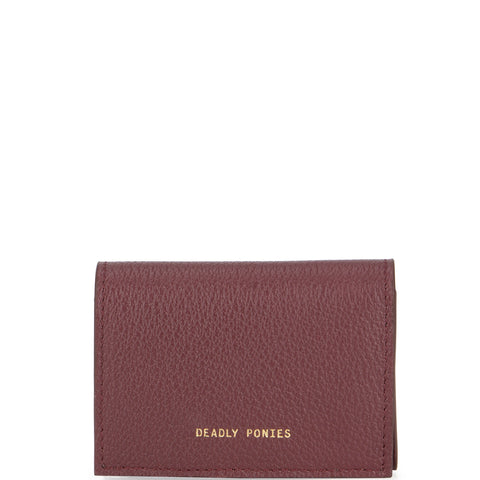 Flip N Snap Wallet, Bordeaux