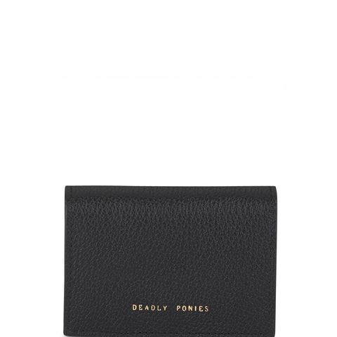 Flip N Snap Wallet, Black