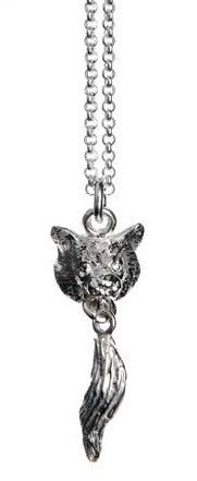 Wolf Head With Tail Necklace