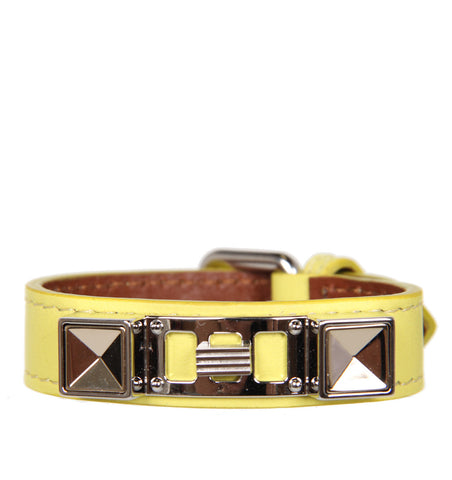PS11 Bracelet Smooth Leather, Lemon