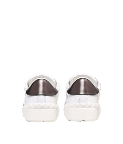 Open Sneaker, VLTN, White/Black