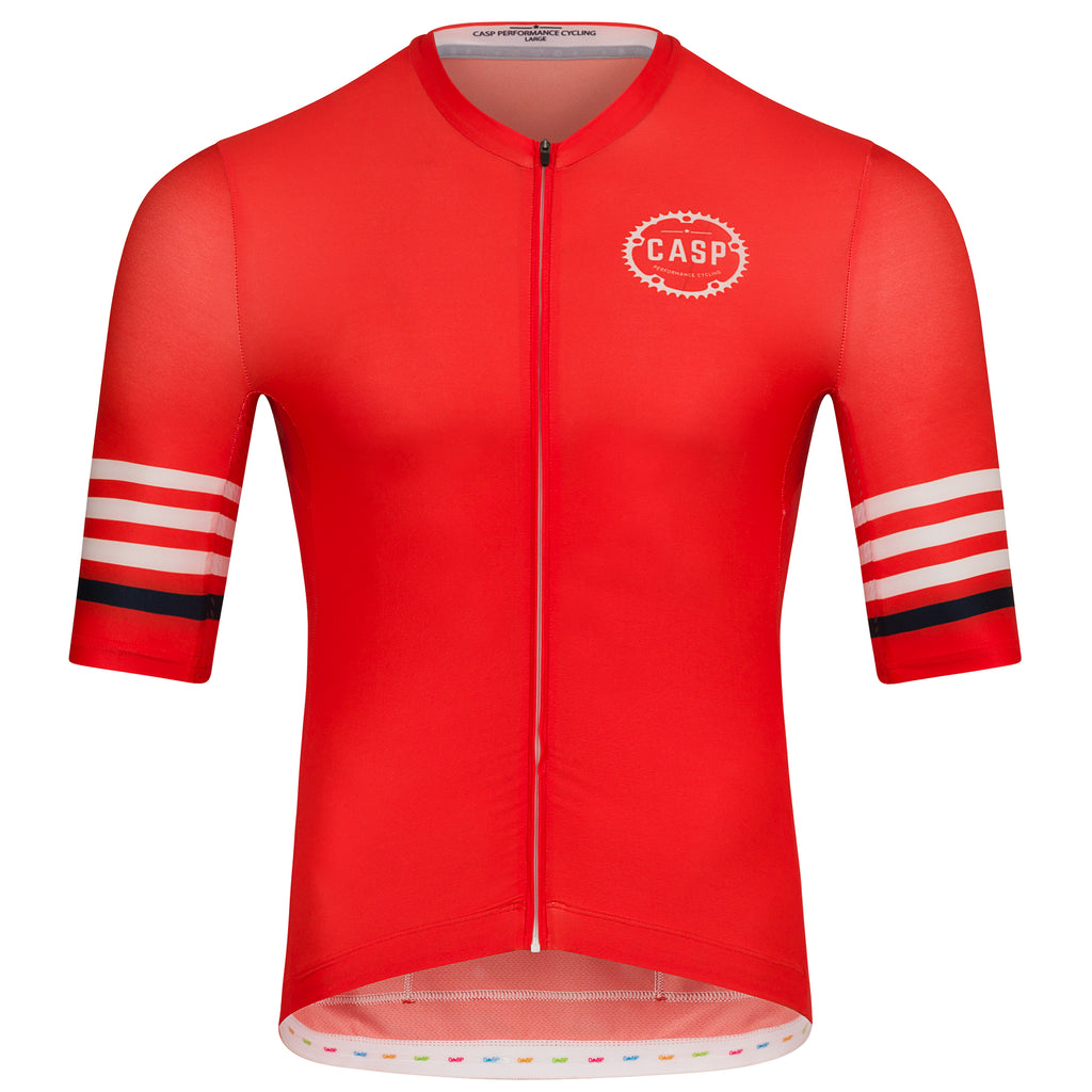 Mix n Stripes Jersey Red