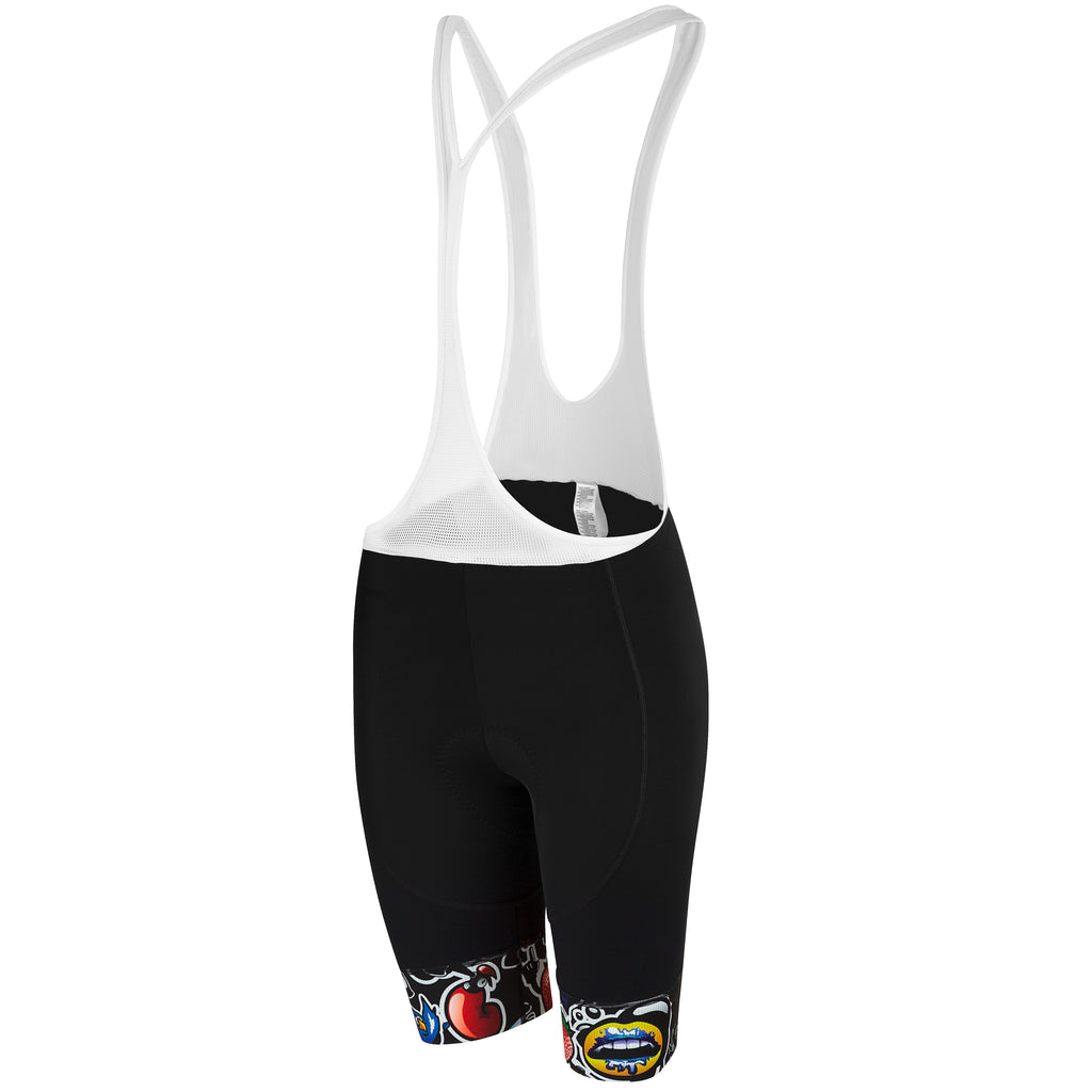 Ladies Top Cat Bib Short