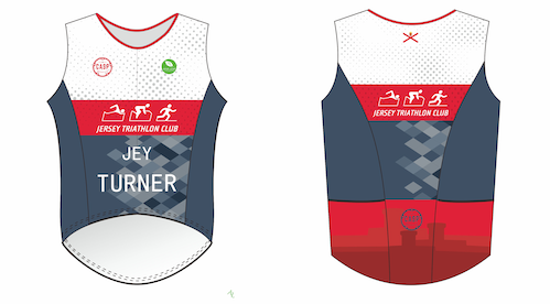 JERSEY TRI CLUB Vest (Ladies)
