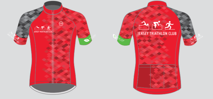 JERSEY TRI CLUB Jersey Red (Ladies)