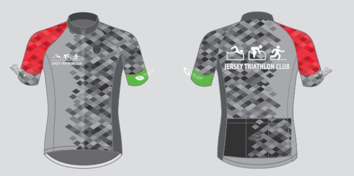 JERSEY TRI CLUB Jersey Grey (Mens)