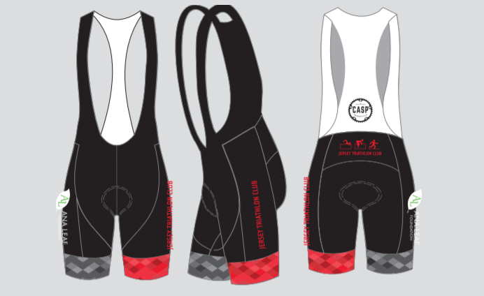 JERSEY TRI CLUB Bib Shorts (Ladies)