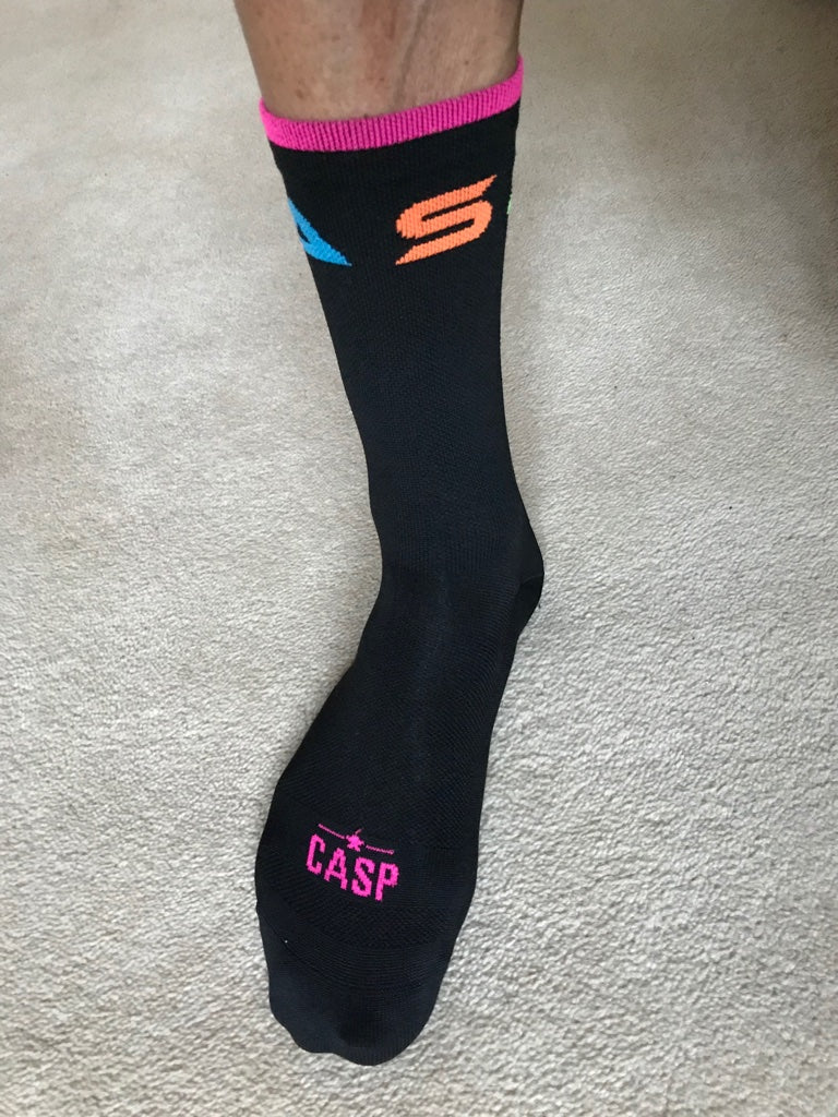 Santa Monica Black Socks