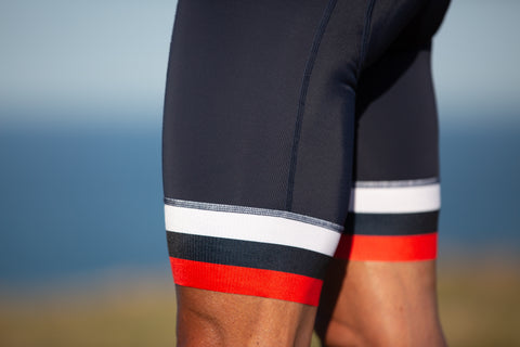 Mix n Stripes Bib Shorts