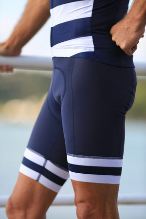 Breton Stripes Bib Shorts
