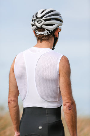 Classic White Sleeveless Baselayer