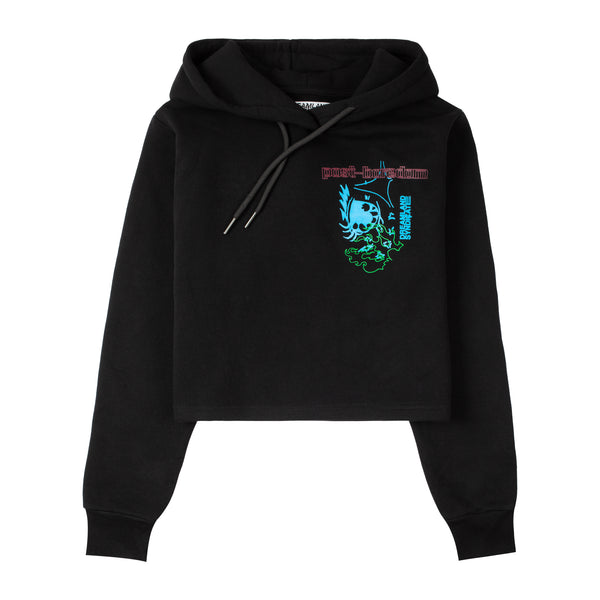 Reflection Cropped Hoodie