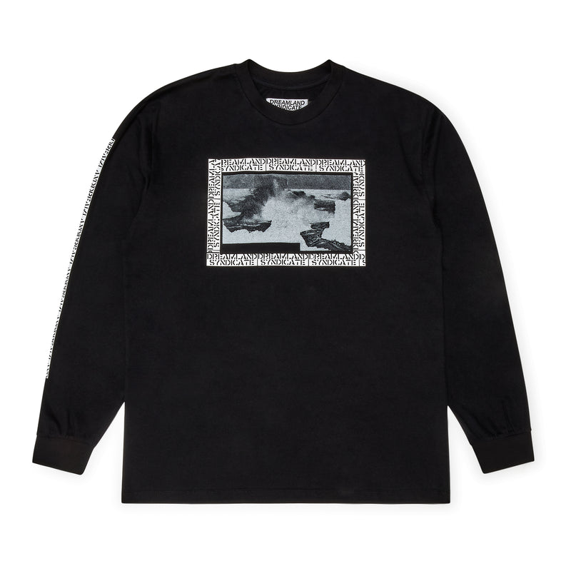 Wave Long Sleeve Black