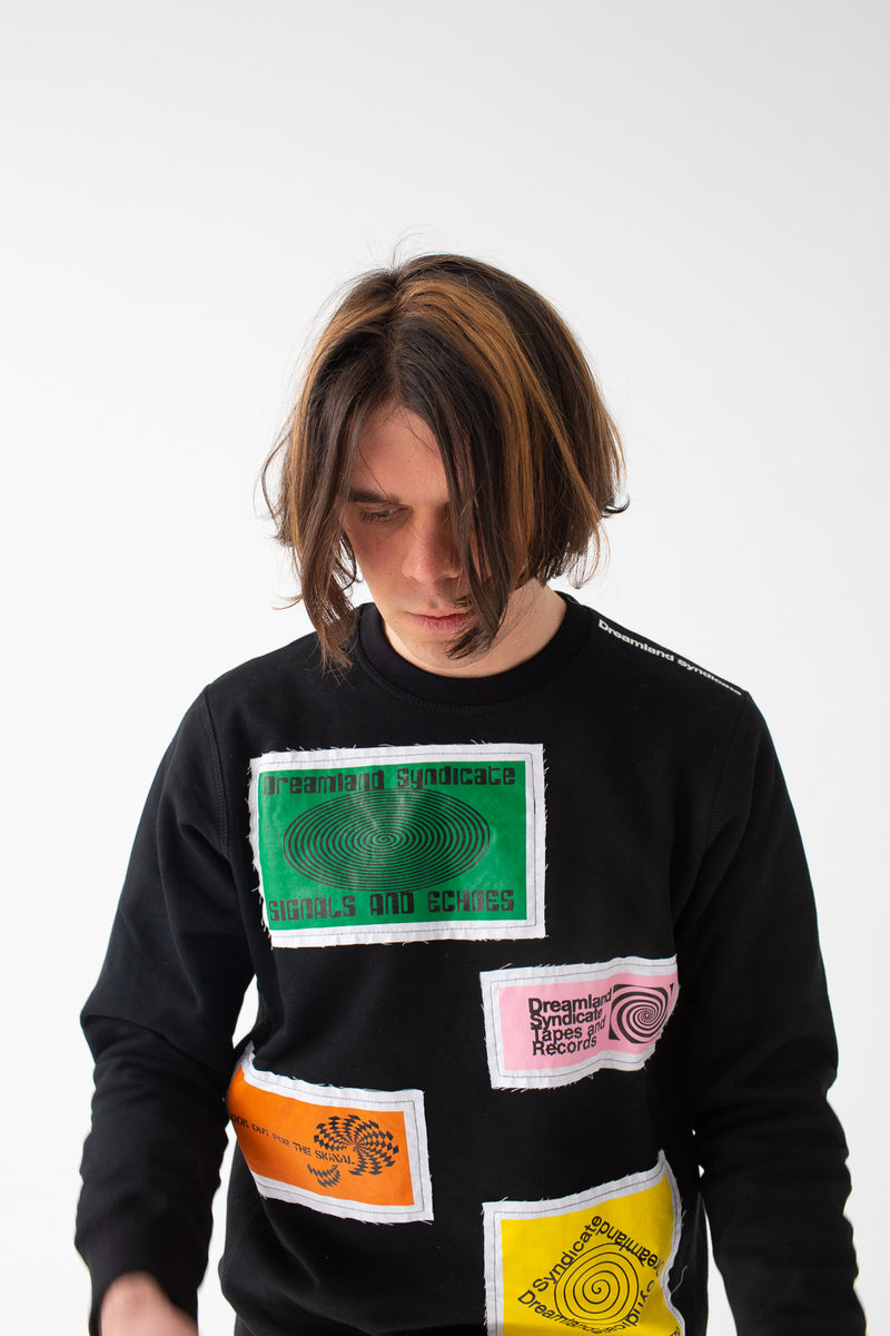 Signals/Echoes Crewneck with patches