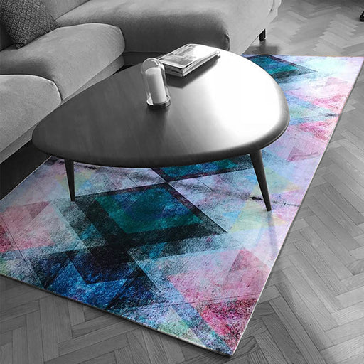 Photo d'un tapis avec un aspect velours personnalisable