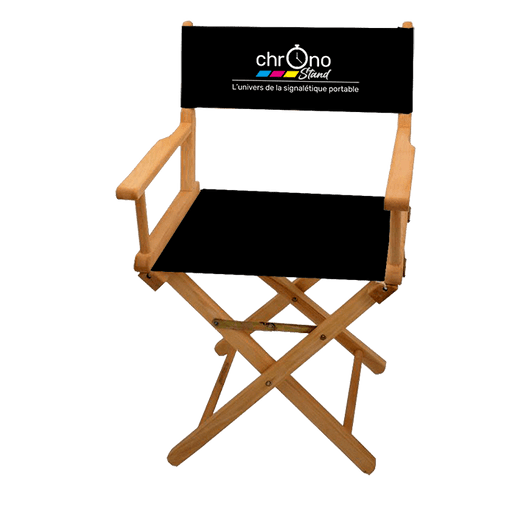 Photo d'une chaise cinema personnalisé