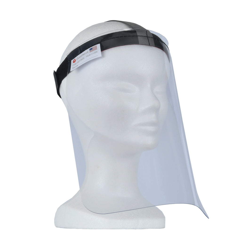 GUARDFACE by GUARDTEX Flexible Face Shield - Front right