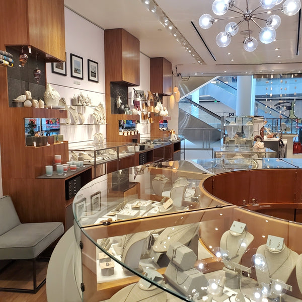 Interior image of Bezel & Kiln at Pacific Place downtown Seattle, WA