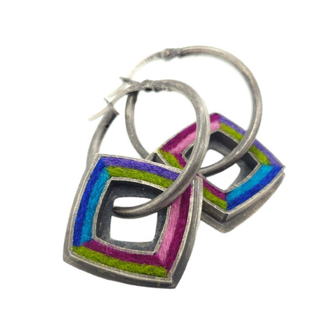 https://bezelandkiln.com/collections/michele-a-friedman/products/earrings-hoops-square-donut-gem-tones-by-michele-a-friedman