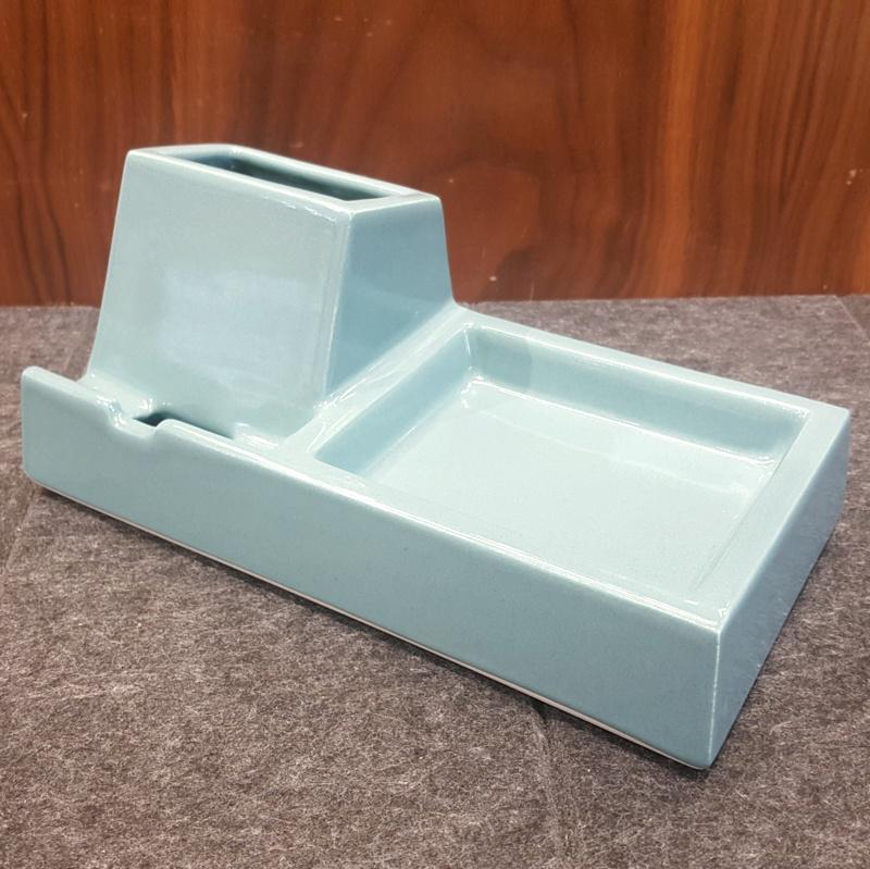 Valet - Phone Dock - Teal by Stak Ceramics
