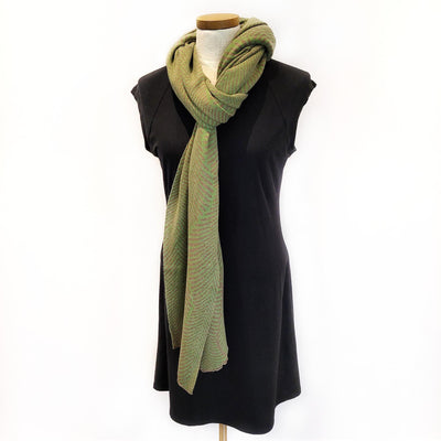 Forest Fern Wrap - Pistachio and Pebble by Liamolly