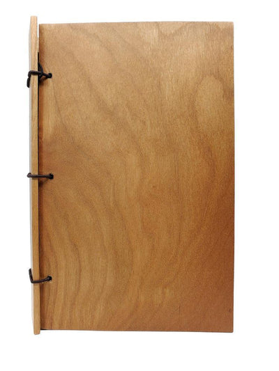 4x6in Cherry Wood Journal by BookGrain